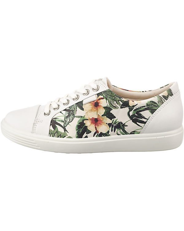 Low 1 White ecco Sneakers Soft Droid weiß xqUXcfv