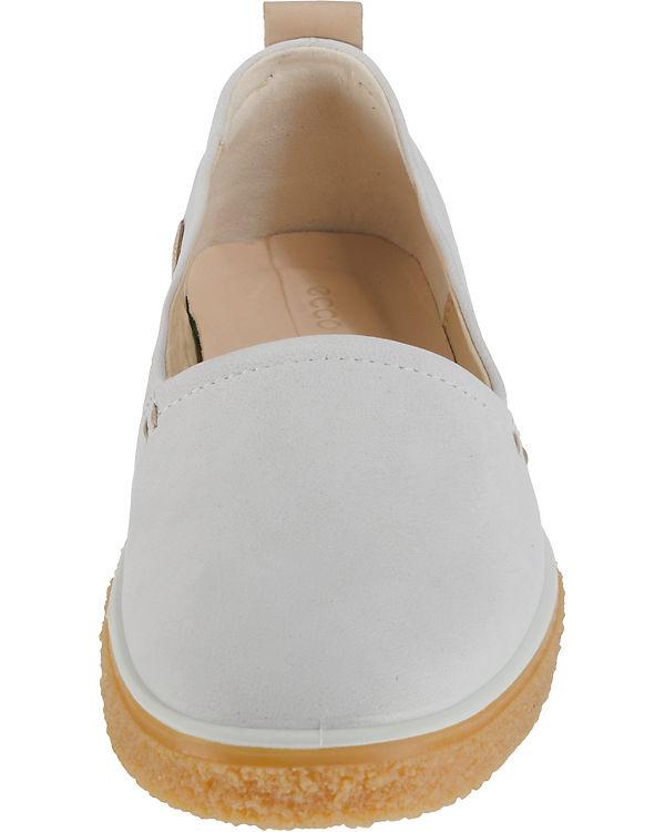 ecco, Crepetray Slipper, Shadow White riddick Sportliche Slipper, Crepetray weiß 98604a