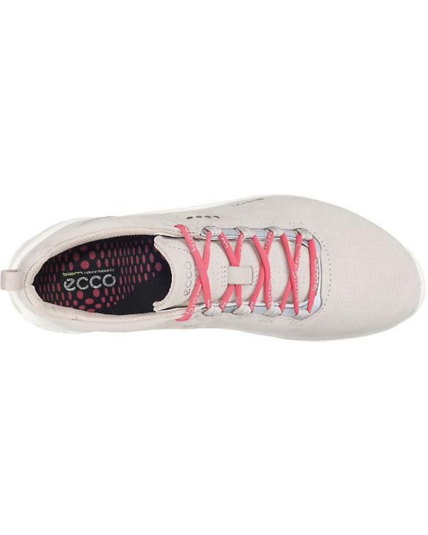 ecco Biom Fjuel Navy Yabuck Yak Sneakers Low hellgrau