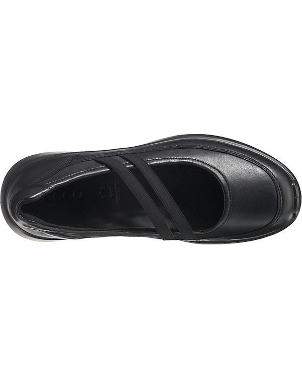 schwarz Ballerinas schwarz ecco Ballerinas Komfort Komfort ecco ecco wE0xE1qA