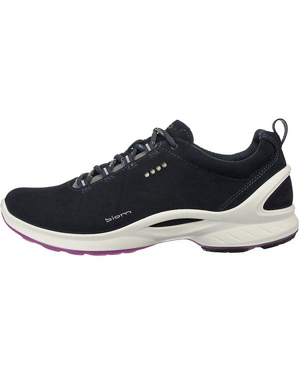 Yabuck Biom Sneakers Fjuel Low ecco Yak schwarz Navy q7Ptdt