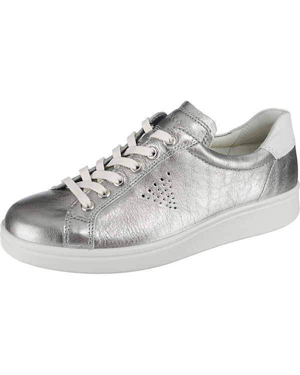 ecco, Sneakers Aquet Rose Dust Trento Sneakers ecco, Low, silber 560351