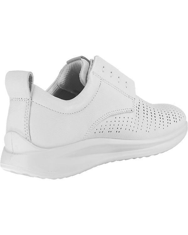 ecco Aquet Ladies White Trento Sneakers Low weiß