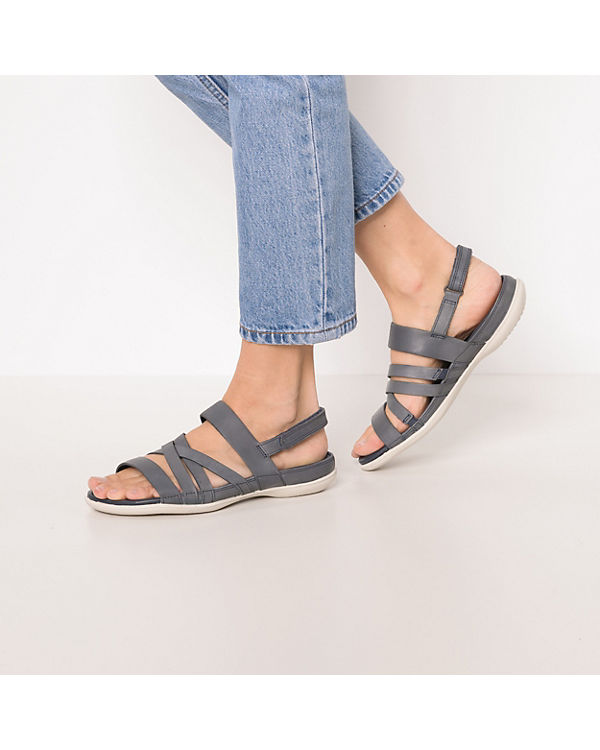 Cl Warm Rock Sandalen Moon Metallic Le Grey Flash blau Klassische ecco q6wUX0R5