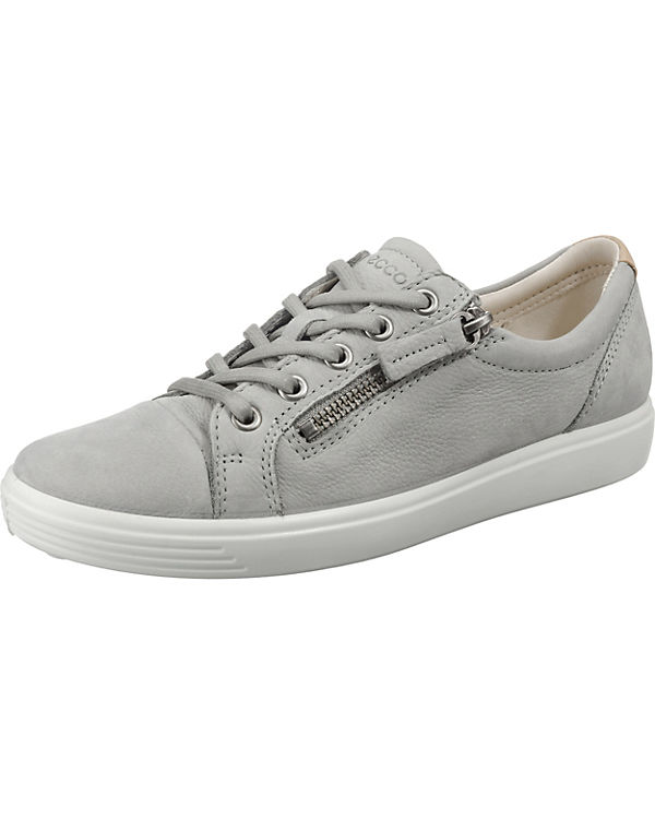 1 Droid Sneakers Low ecco White grau Soft tZpInTqn5