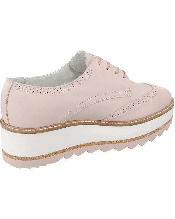 BULLBOXER Schnürschuhe rosa