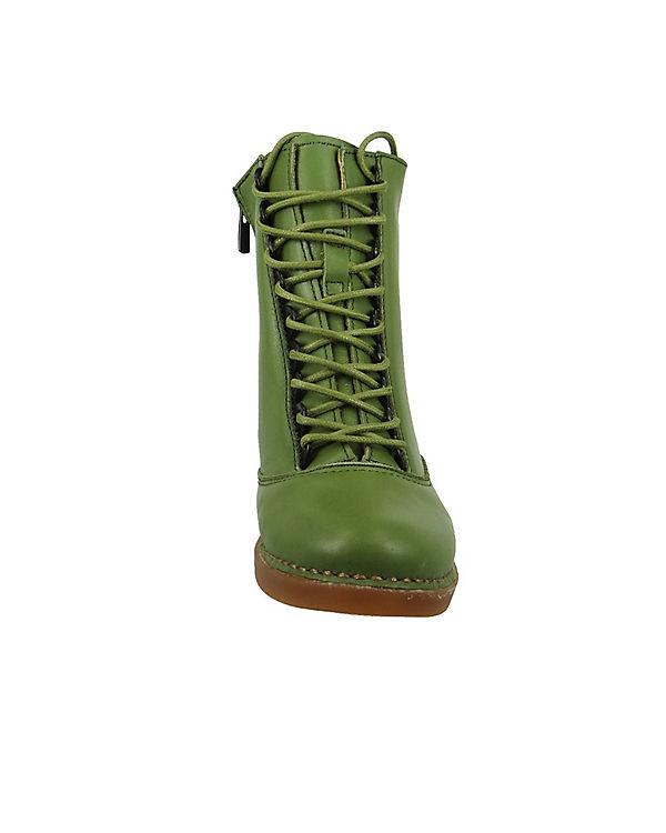 *art Schnürstiefeletten grün