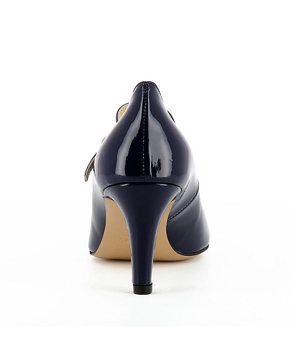 Spangenpumps BIANCA Evita dunkelblau Evita Shoes Shoes z1Iqtvw