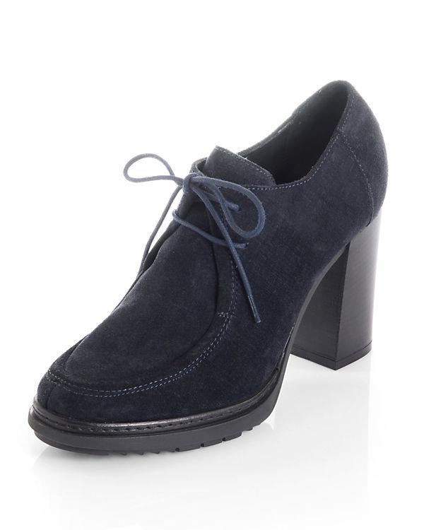 Alba Moda Ankle Boots dunkelblau
