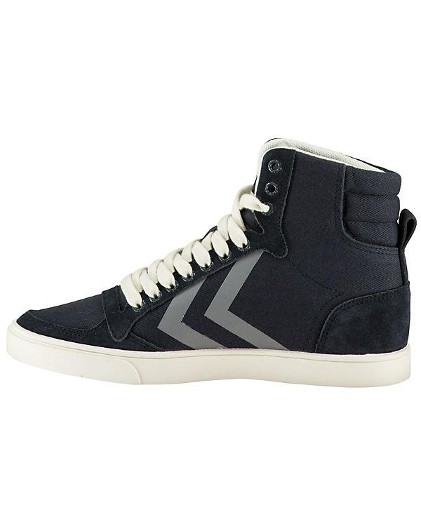 hummel Sneakers High Slimmer Stadil Herringbone blau