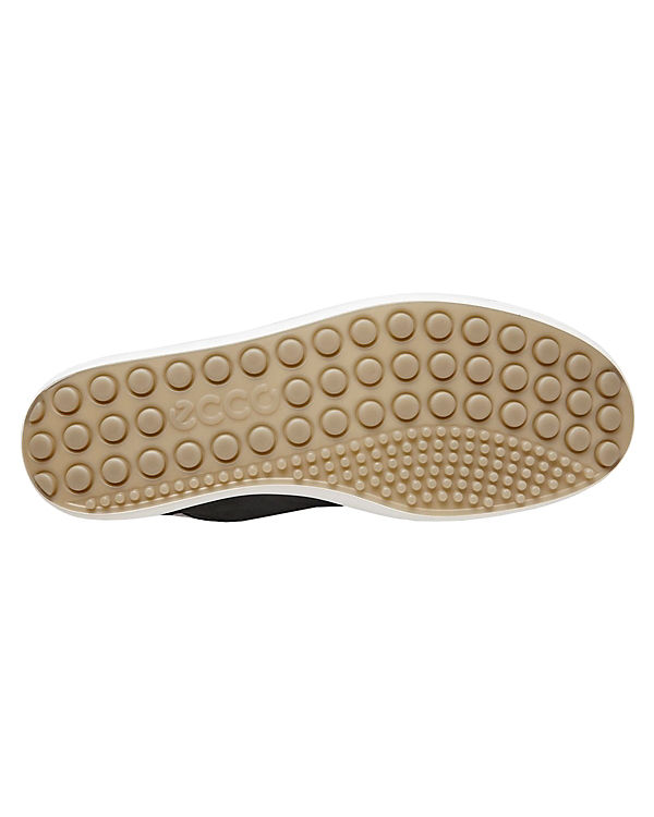 schwarz ecco Schuhe Ladies Mid 7 Soft Halbschuhe rrUCwqY