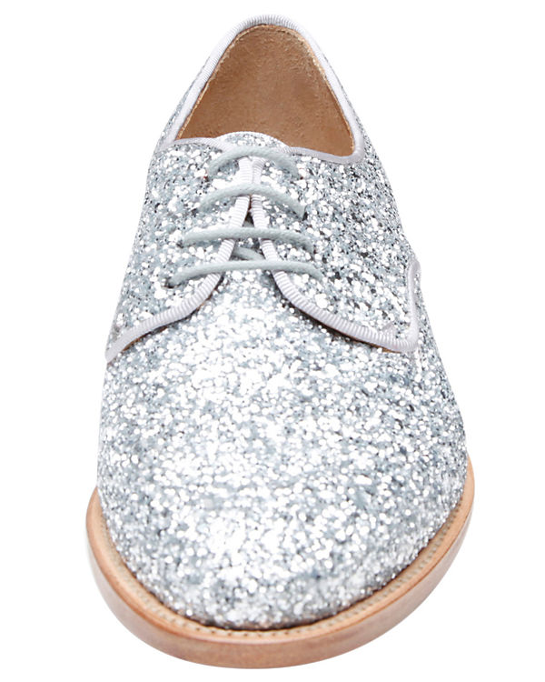 Schnürschuhe No SHOEPASSION 114 SHOEPASSION silber No Hwxn1nUI