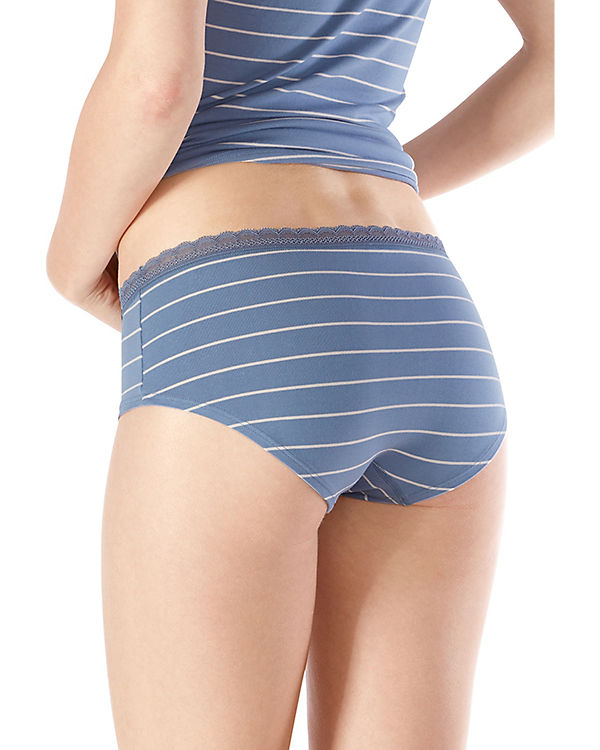Skiny Panties Doppelpack Advantage Lace blau