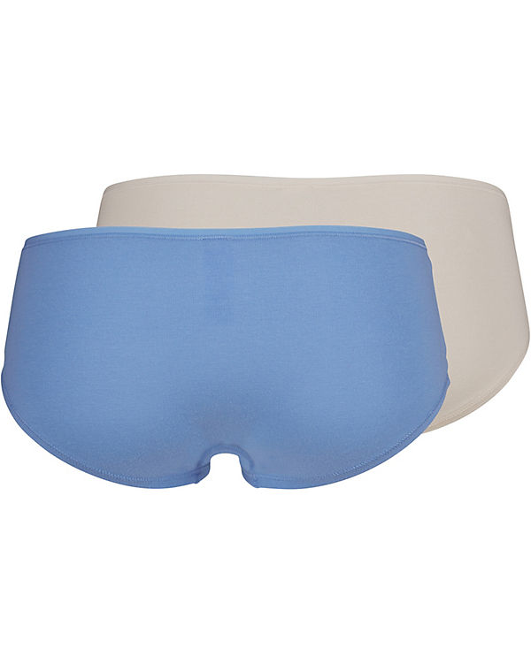 Skiny Panties Doppelpack Advantage Cotton blau