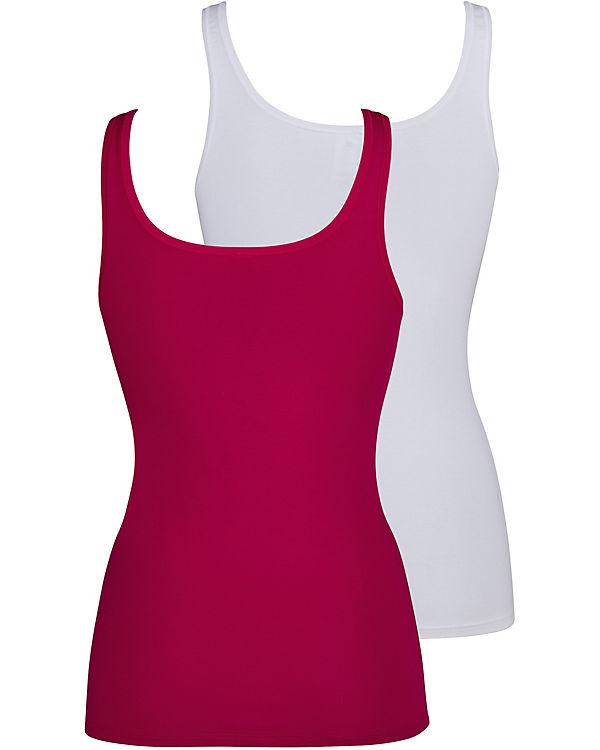 Advantage Cotton Doppelpack Tank Top Skiny rosa xqpBFF
