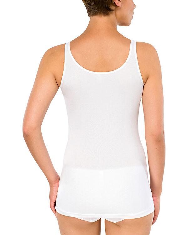 SCHIESSER Unterhemden Doppelpack weiß