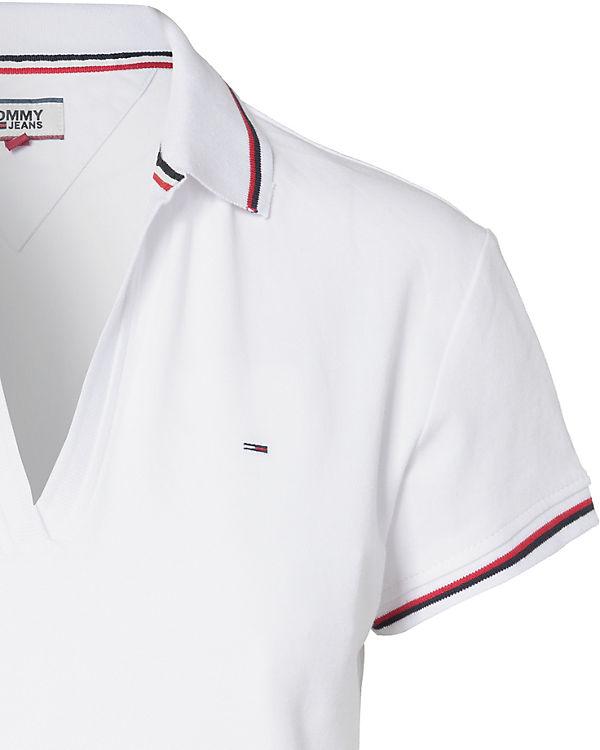 TOMMY JEANS Poloshirt weiß