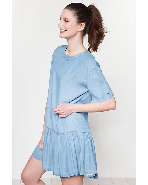 JEANS Kleid blau TOMMY JEANS TOMMY qEwSn0zt