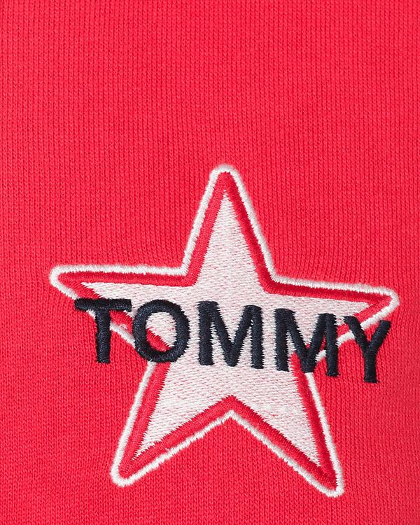 TOMMY JEANS Sweatjacke rot Online-Verkauf 0g8VMRAq