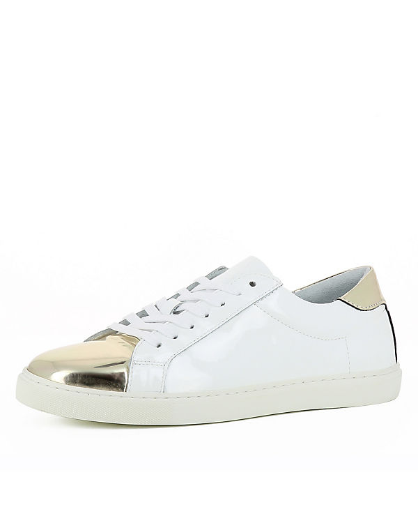 Evita Shoes Sneakers Low MARISA weiß/gold