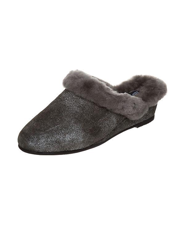 Fortuna Pantoffeln Sibille grau-kombi