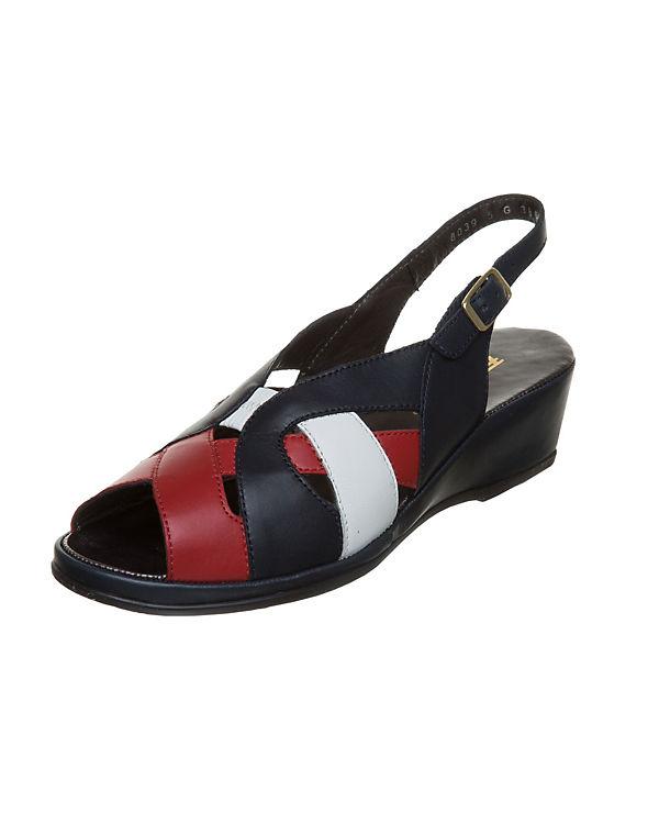 Fortuna Klassische Sandaletten Anita blau-kombi