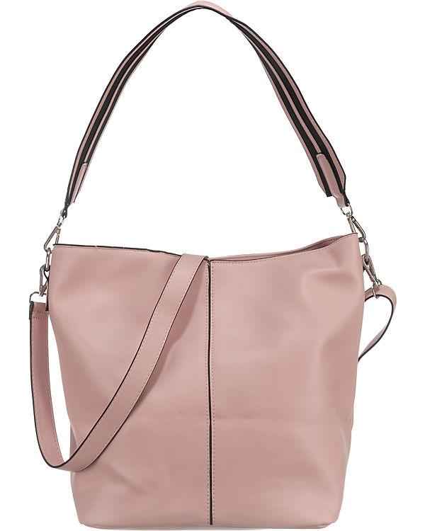 pieces Handtasche rosa