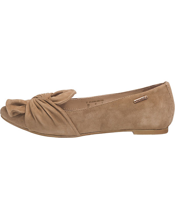 bugatti Klassische Ballerinas hellgrau
