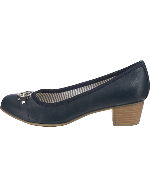 TAILOR Pumps kombi blau TOM Klassische g1YHqwYU