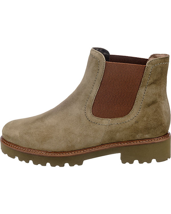 Gabor Chelsea Boots grün