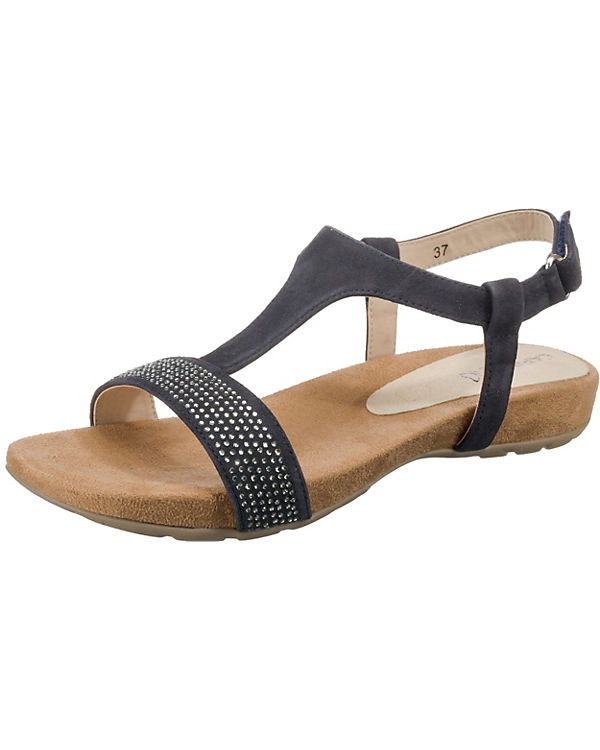 CAPRICE Komfort-Sandalen blau
