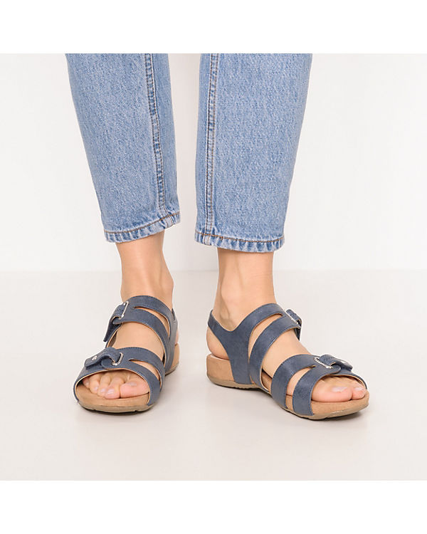 CAPRICE kombi CAPRICE Sandalen Komfort kombi Komfort blau blau Komfort Sandalen Sandalen blau kombi CAPRICE rqCfwpr