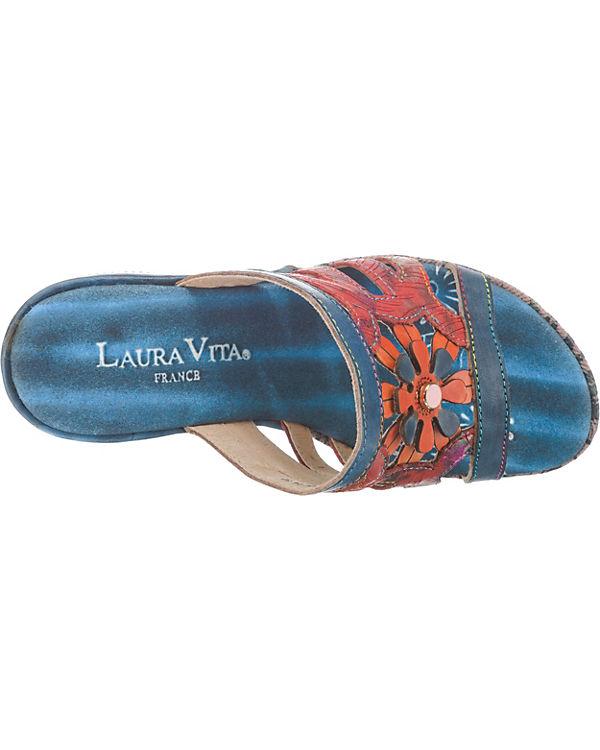 kombi blau Pantoletten Laura 14 Beaute Vita wTqMAXIzR
