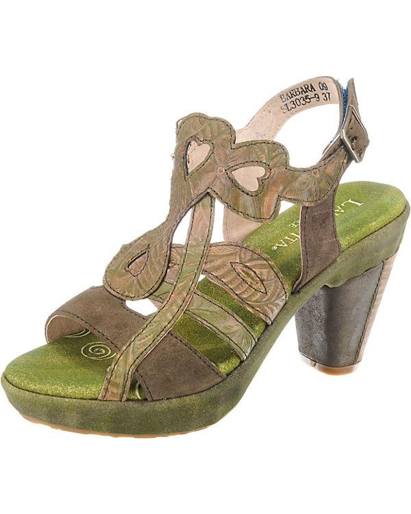 Laura Vita Barbara 09 Klassische Sandaletten khaki