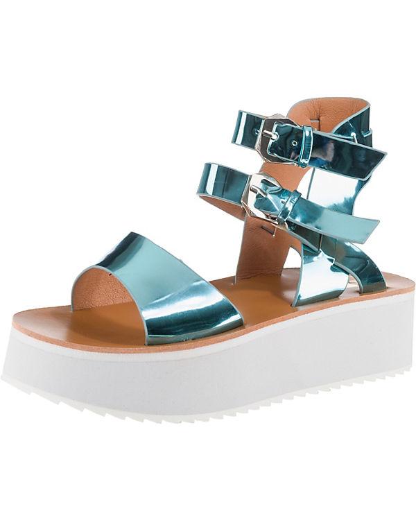 Sandaletten BUFFALO metallicblau Klassische Klassische BUFFALO xY0Ht