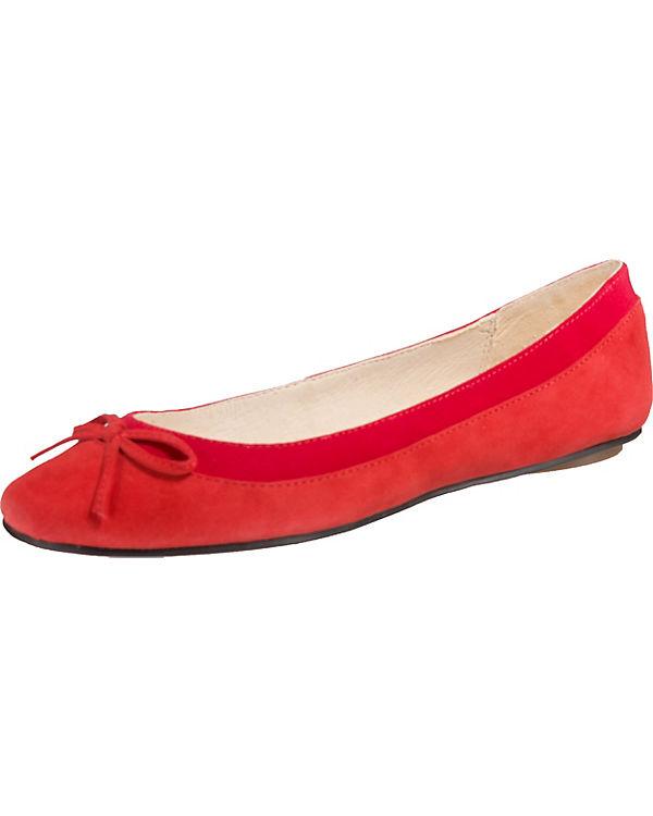 rot Ballerinas BUFFALO rot Ballerinas Ballerinas BUFFALO BUFFALO Klassische Klassische Klassische fpqxwR