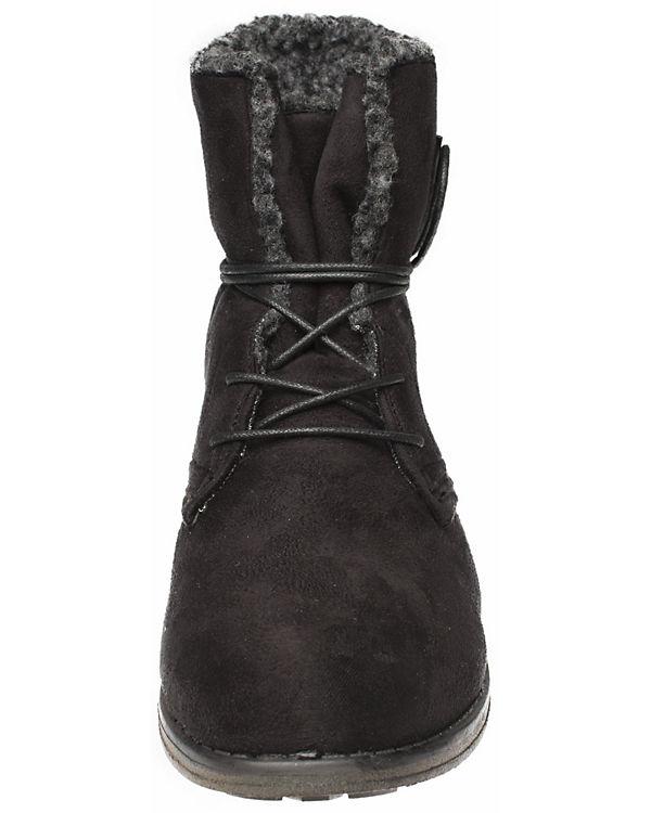 Fitters Footwear, Schnürstiefeletten Hanna, Hanna, Hanna, schwarz de5de6