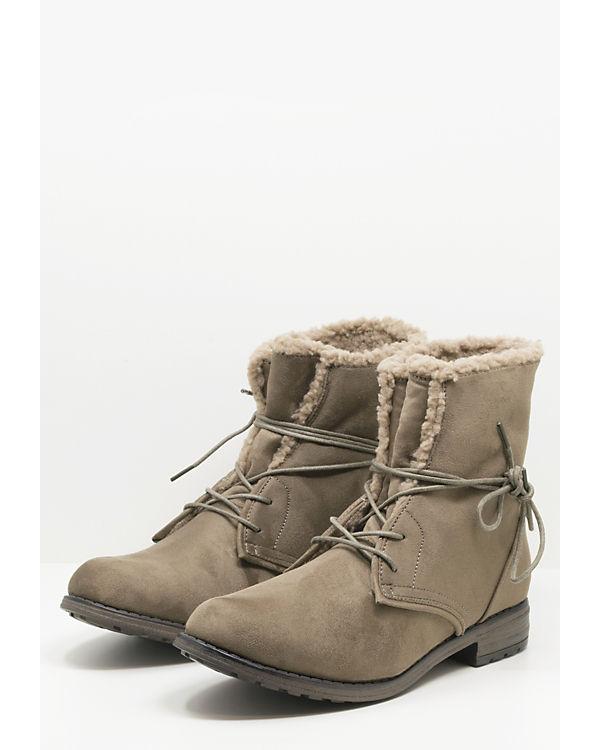 Fitters Footwear Schnürstiefeletten Hanna taupe