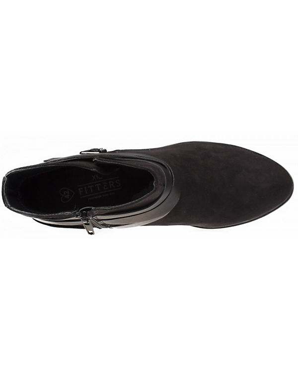 Klassische Polly Footwear Stiefeletten schwarz Fitters OSqRp0w