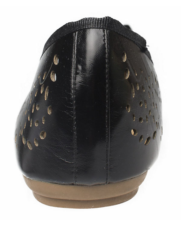 Klassische schwarz Fitters Footwear Ballerina Zoe 6ww5q0