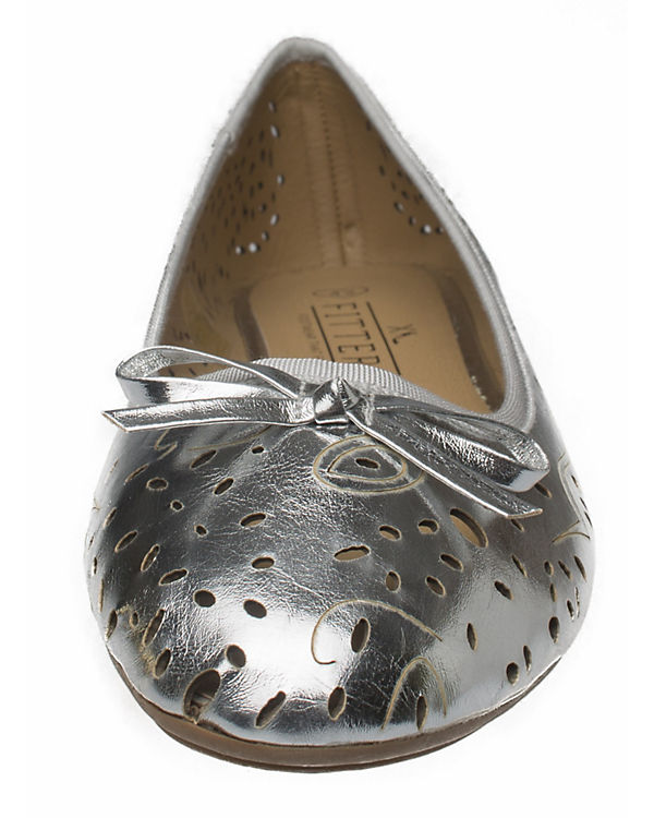 Zoe Klassische Fitters Ballerina silber Footwear qFtYB