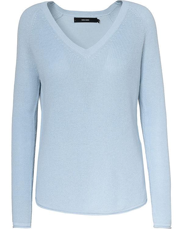VERO MODA Pullover blau