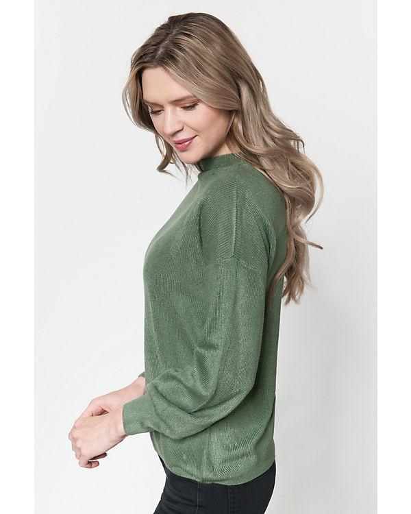 ONLY Pullover grün
