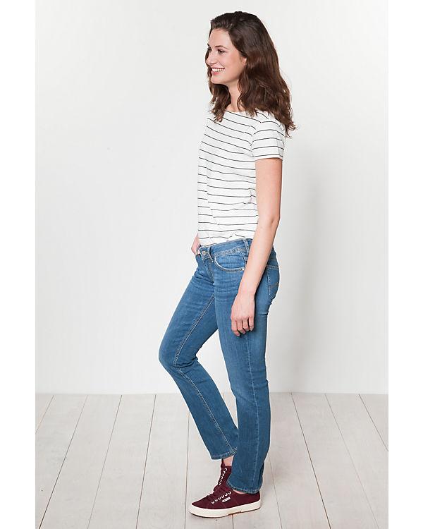 MUSTANG Jeans Gina Straight hellblau