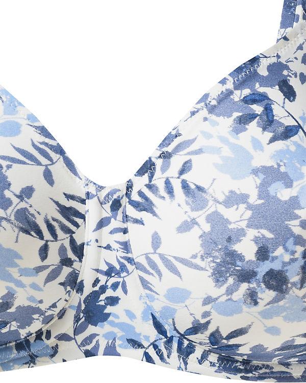 Triumph Bügel BH My Flower Minimizer blau