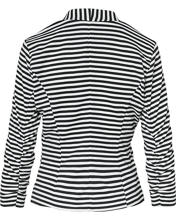 VILA Blazer schwarz/weiß