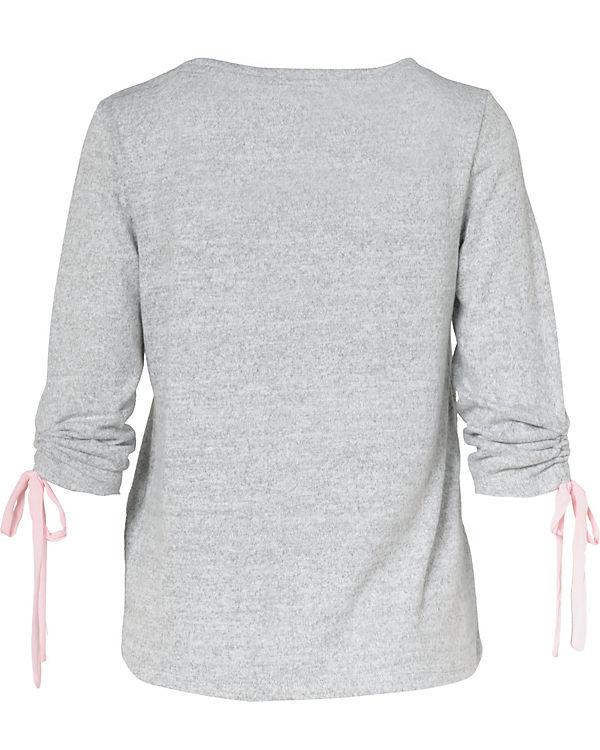 hellgrau 4 ONLY Arm 3 Shirt 7AZwCFq