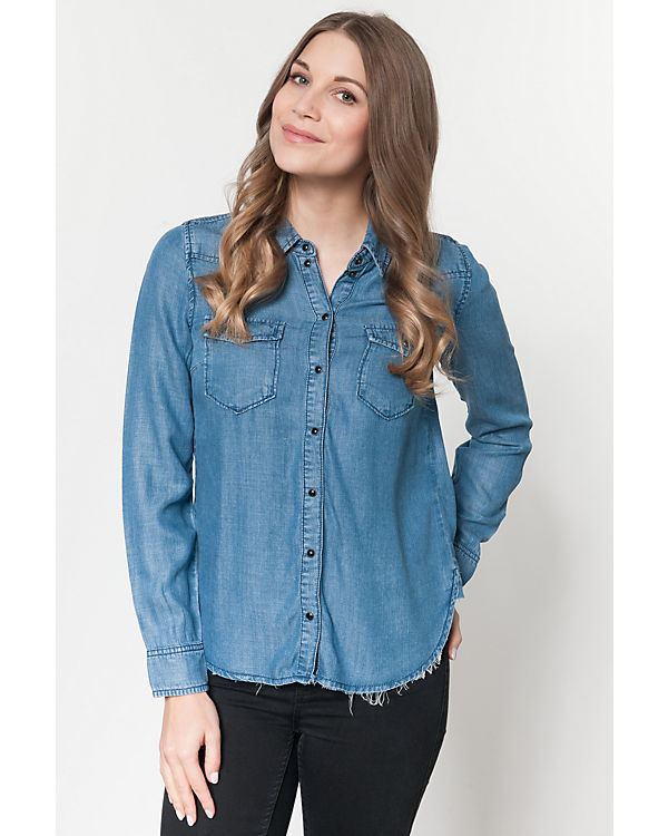 blue ONLY Jeansbluse denim ONLY Jeansbluse blue blue denim Jeansbluse Jeansbluse ONLY ONLY ONLY Jeansbluse denim denim blue qqAWnBf
