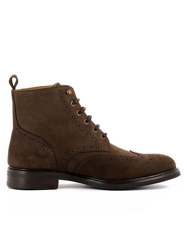Evita Shoes Schnürstiefeletten ADRIANO dunkelbraun