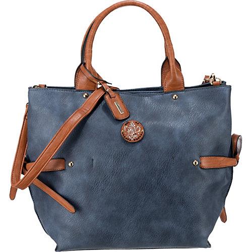 rieker Handtasche blau Damen